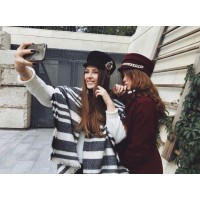 Модные образы - фуражки и кепи Осень