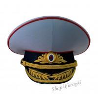 Фуражка парадная МВД с ручной вышивкой 127