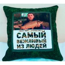Подушка с фотопринтом 007