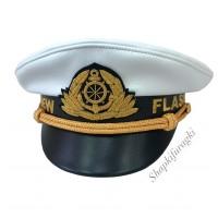 Яхтсменка, белая кожа 252