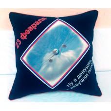 Подушка с фотопринтом 002